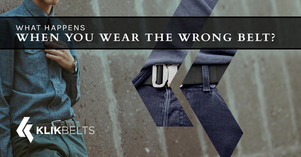 What Happens When You Wear The Wrong Belt