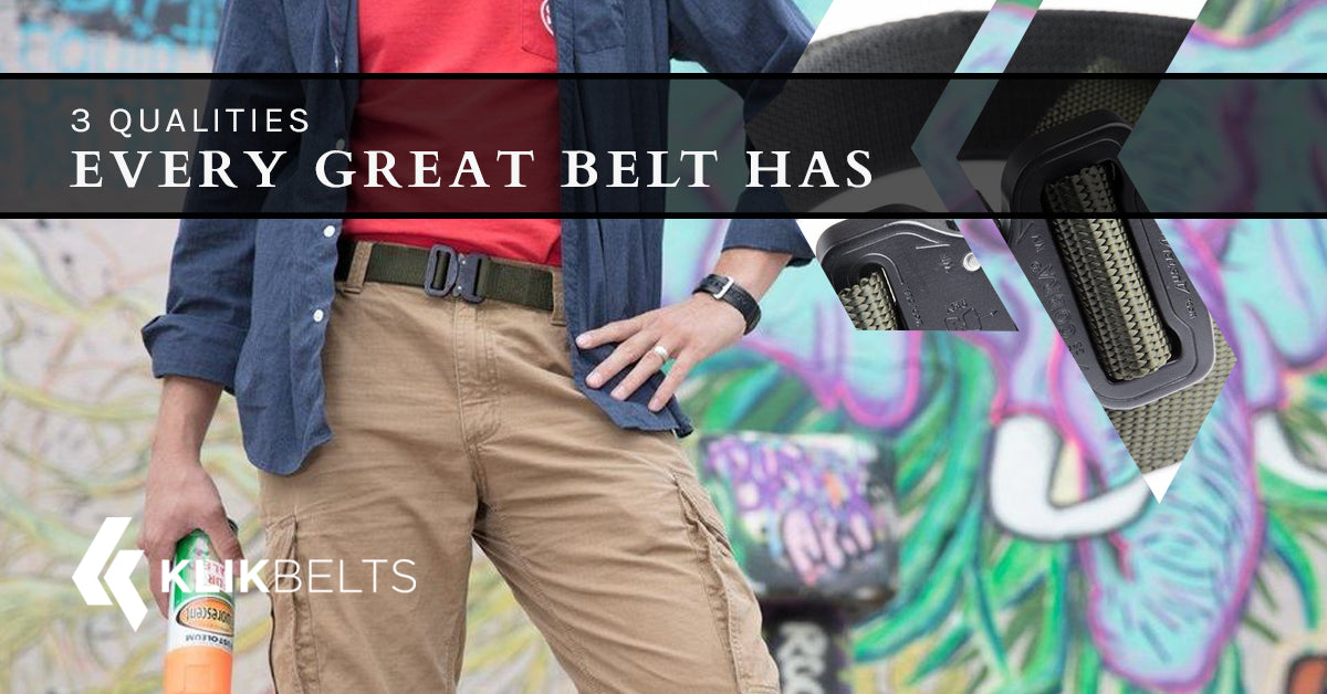 3 Qualities Every Great Belt Has