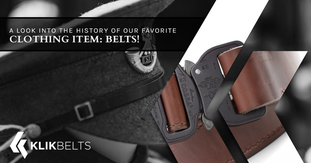 A Look Into The History Of Our Favorite Clothing Item: Belts!
