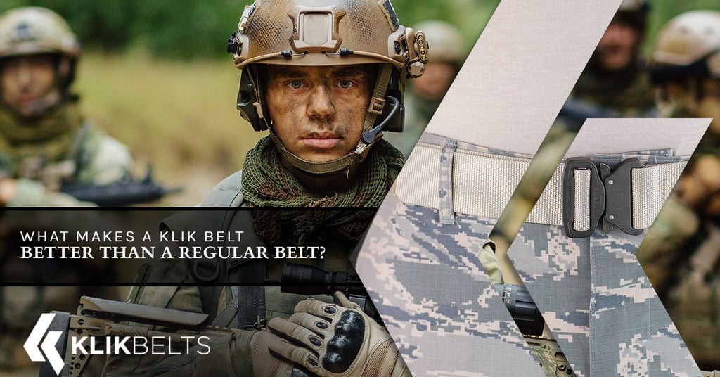 What Makes A Klik Belt Better Than A Regular Belt?