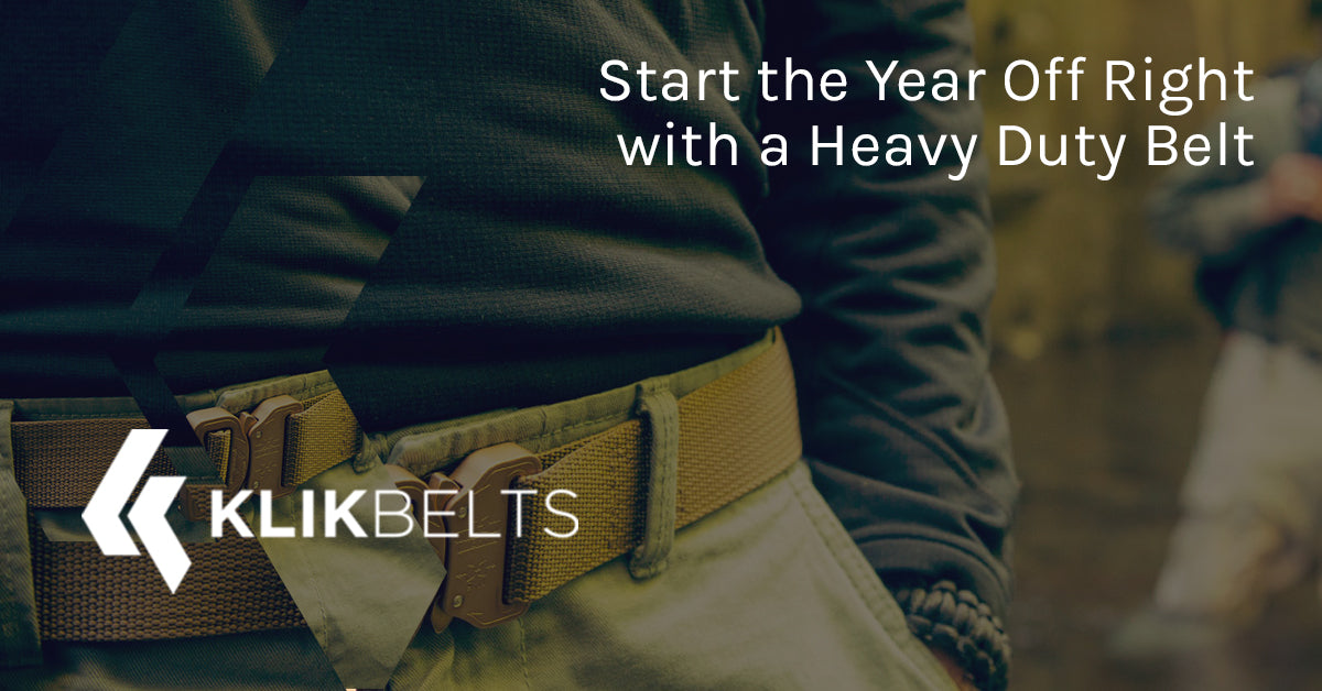 Start the Year Off Right With a Heavy Duty Belt