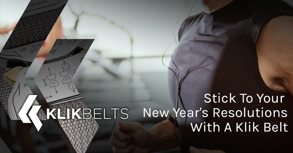 Stick To Your New Year's Resolutions With A Klik Belt