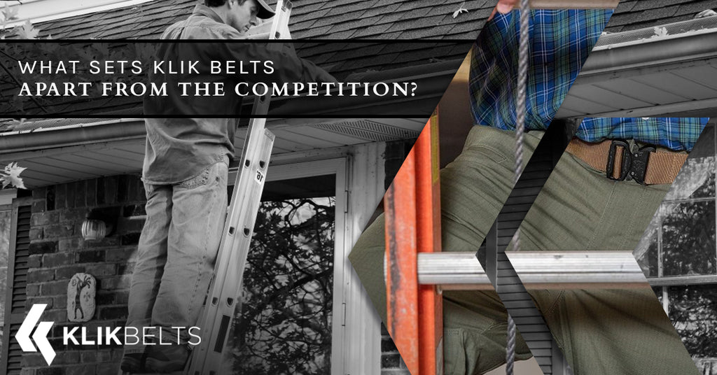 What Sets Klik Belts Apart From The Competition?