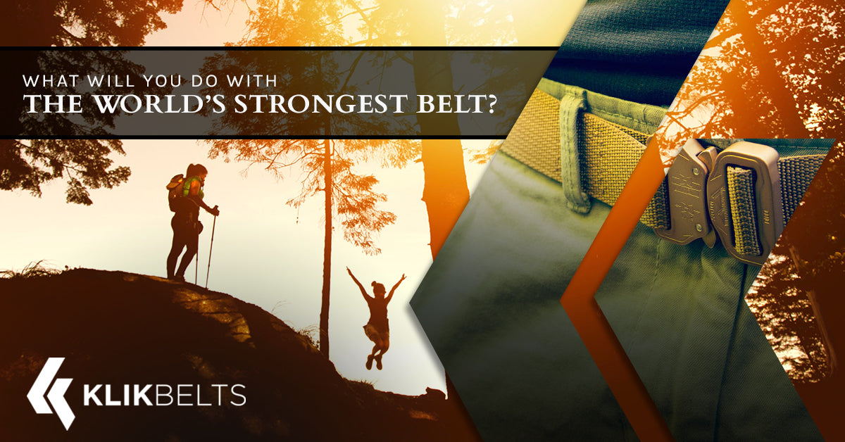 What Will You Do With The World's Strongest Belt?