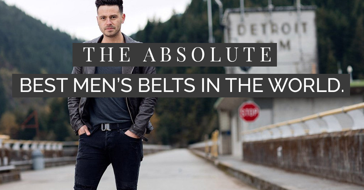 3 Things the Best Men's Belts on the Planet Should Have