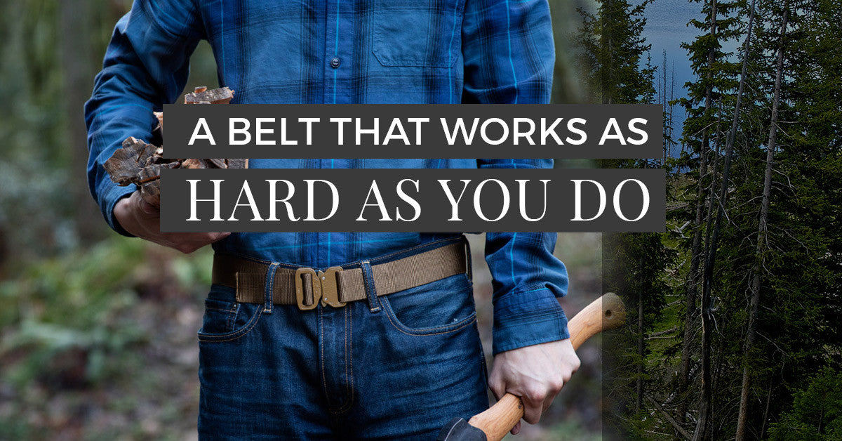 Work Belts That Work As Hard As You Do