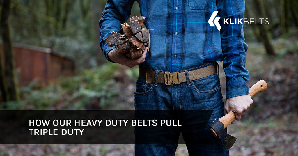 How Our Heavy Duty Belts Pull Triple Duty