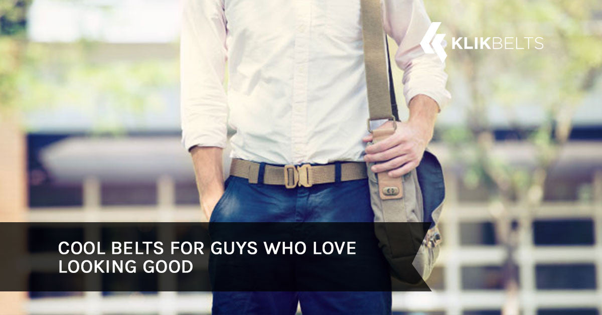 Cool Belts for Guys Who Love Looking Good