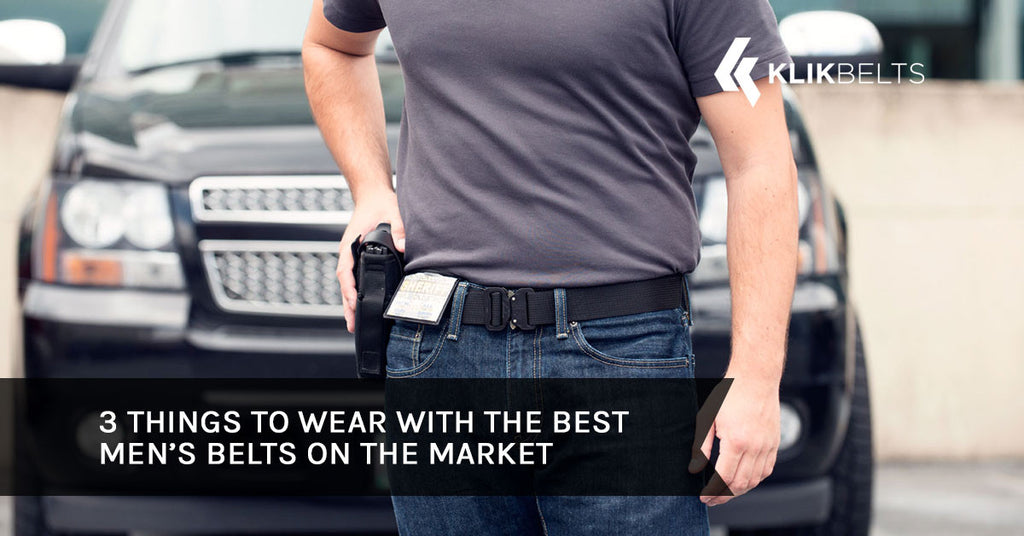 3 Things to Wear with the Best Men's Belts on the Market