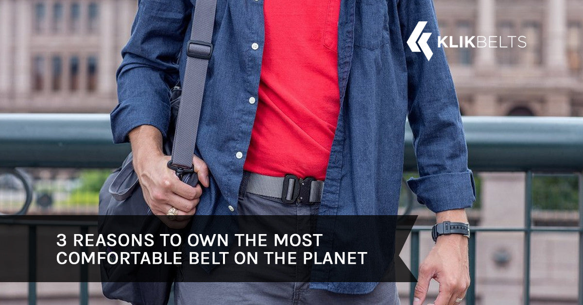 3 Reasons to Own the Most Comfortable Belt on the Planet
