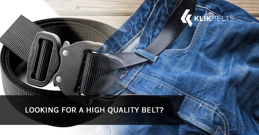 Looking for a High Quality Belt?