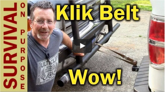 Survival On Purpose reviews Klik Belts