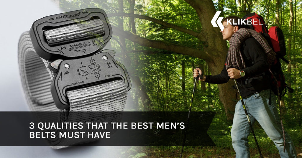 3 Qualities That the Best Men's Belts Must Have