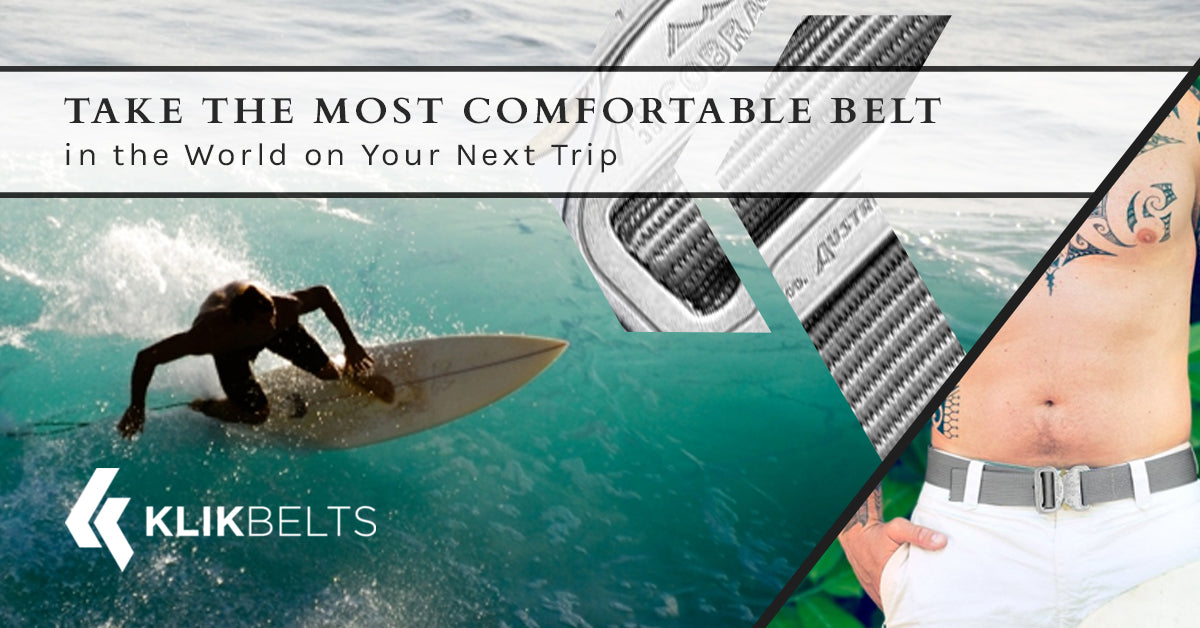 Take the Most Comfortable Belt in the World on Your Next Trip