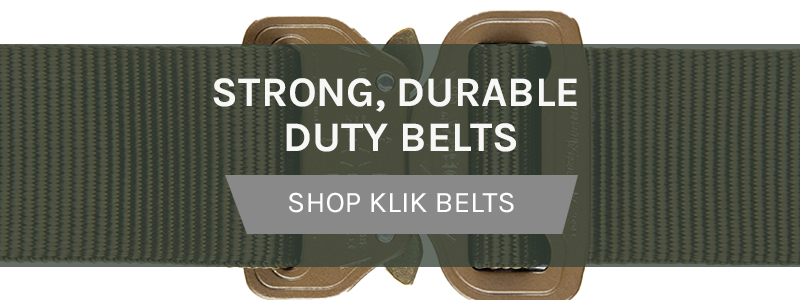 Strong, Durable Duty Belts Shop Klik Belts