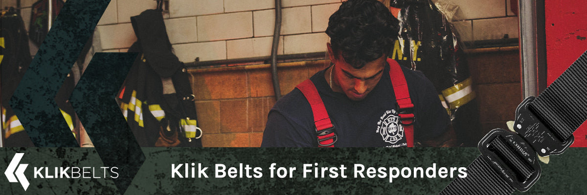 Klik Belts for Law Enforcement