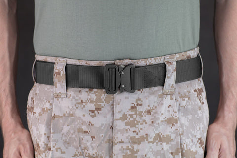 men's tactical belt by Klik Belts