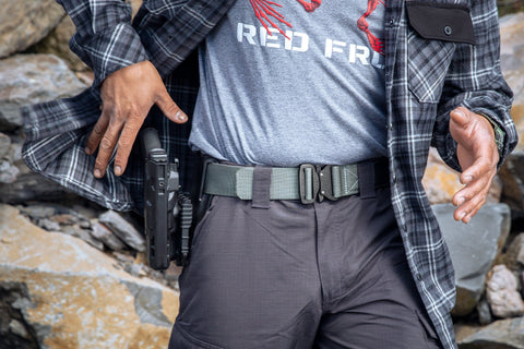 men's and women's concealed carry belt by Klik Belts