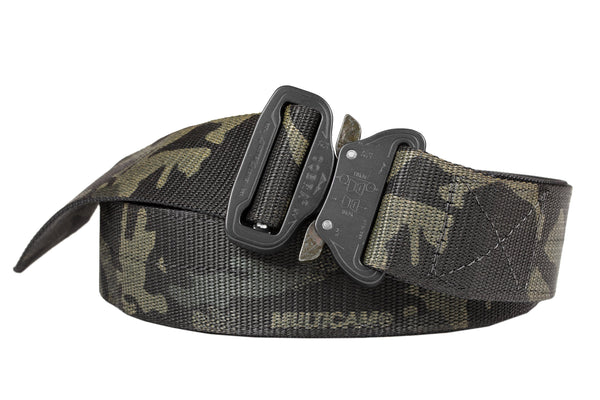 "1.75"" wide heavy duty Klik Belt in camo color"