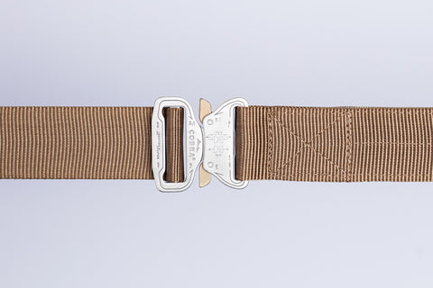 men's brown belt by Klik Belts