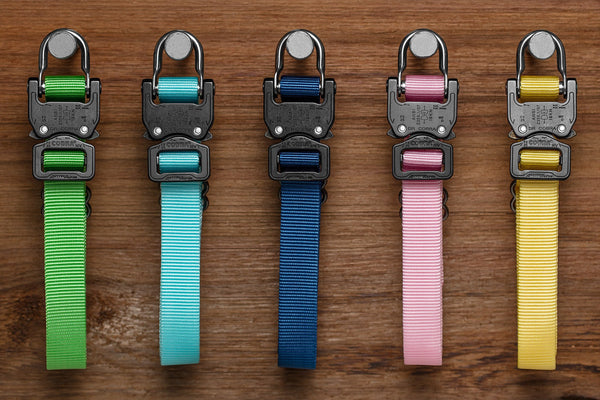 "selection of 1"" Klik Collars for off duty dogs in multiple colors"