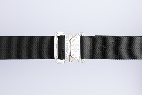 men's black belt by Klik Belts