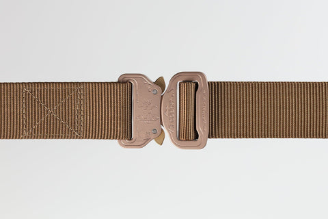 men's and women's duty brown belt by Klik Belts