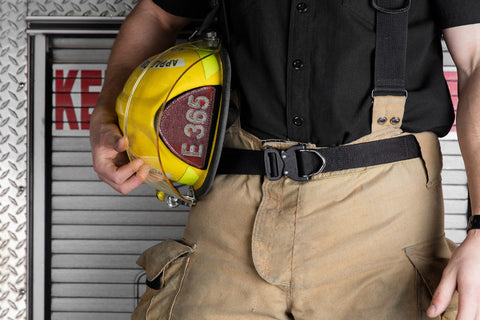belts for firefighters by Klik Belts