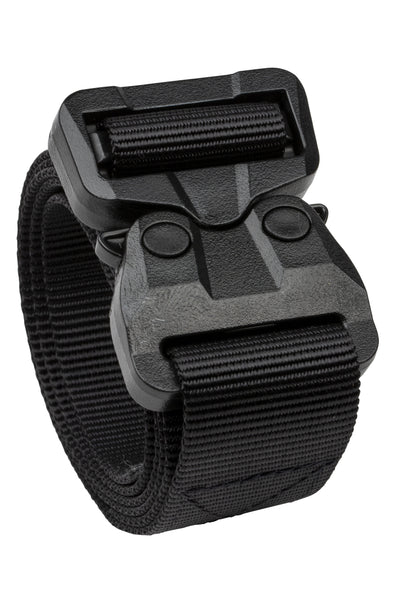 "1.5""  Black Polymer COBRA® Buckle 1-Ply TSA-Approved Belt"