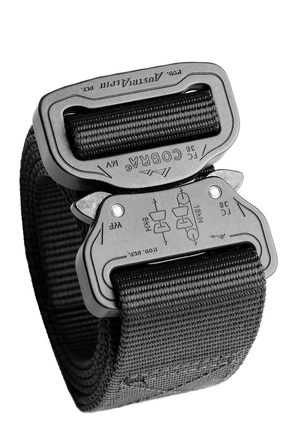 matte black 1-ply Klik Belt