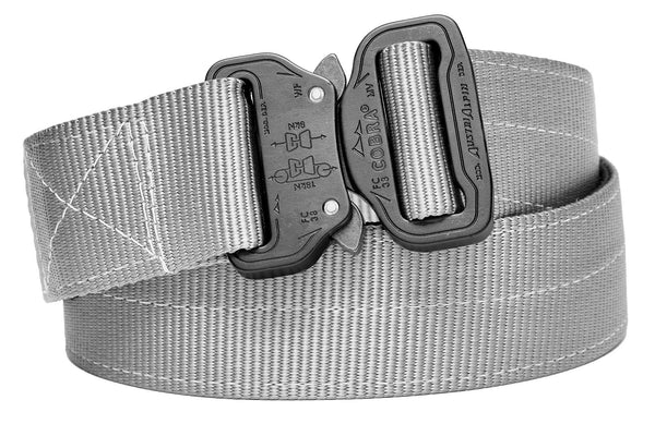 2-ply wolf gray belt for concealed carry holsters