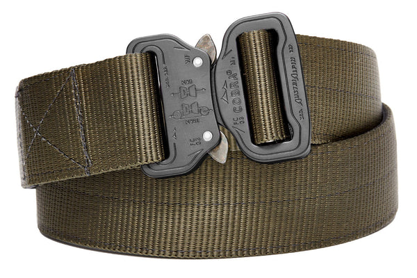 strong 2-ply gun holster belt with clickable buckle