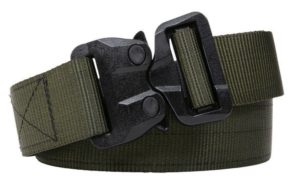 "1.5""  Black/OD Green Poly  2-Ply TSA-Approved Belt"