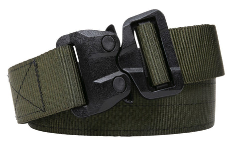 OD Green polymer buckle TSA Approved Belt