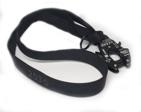 Klik Belts K9 Waist Leash with KONG Frog and Handle with D-ring