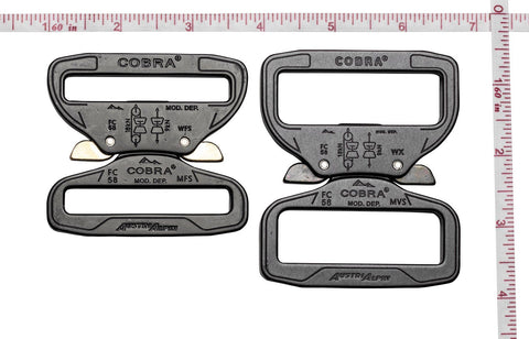cobra buckles by Klik Belts
