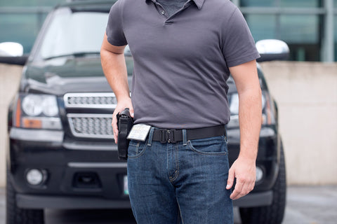 holster belt for men and women by Klik Belts