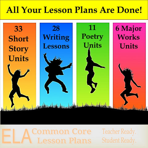 Complete ELA Lesson Plan Collection