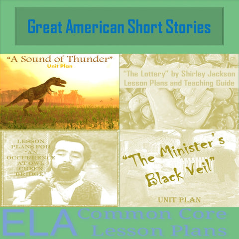 Great American Short Stories Lesson Plans