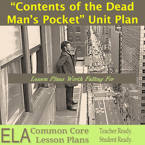 """Contents of the Dead Man's Pocket"" Lesson Plans and Teaching Guide"