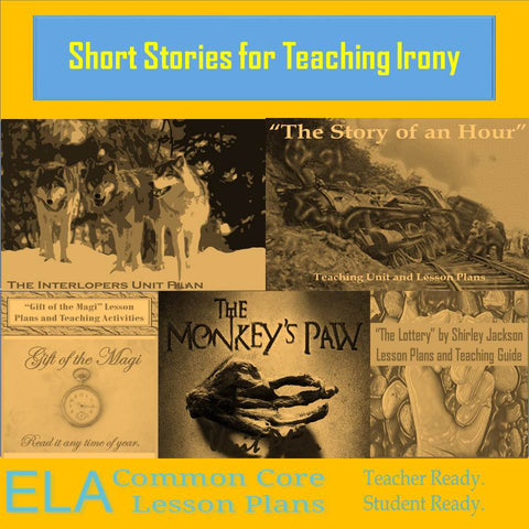 Short Stories for Teaching Irony