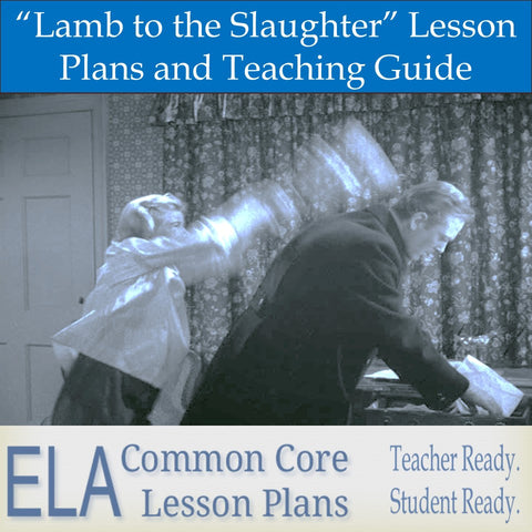 """Lamb to the Slaughter"" Unit Plan and Teaching Guide"
