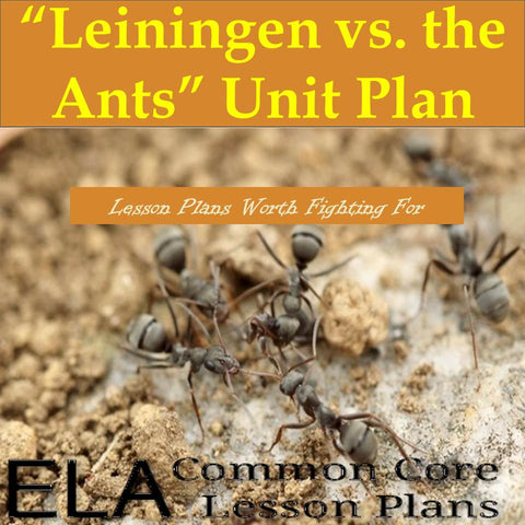 """Leiningen vs the Ants"" Teaching Guide"