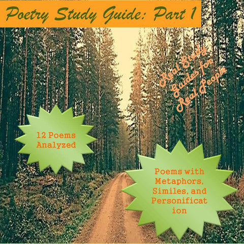 Elements of Poetry Study Guide: Part 1