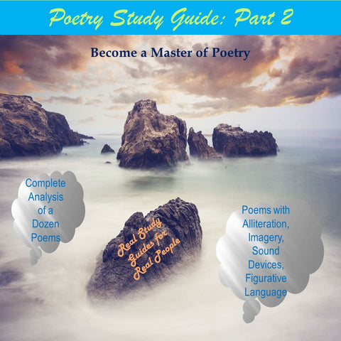 Elements of Poetry Study Guide: Part 2