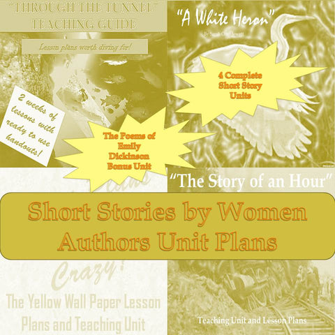 Famous Short Stories by Women Teaching Guides