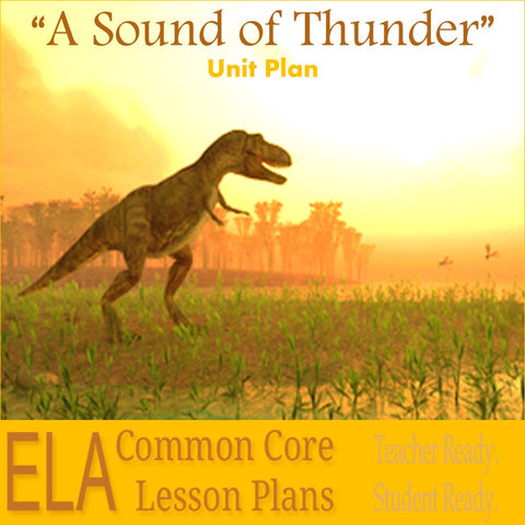 """A Sound of Thunder"" Unit Plan"