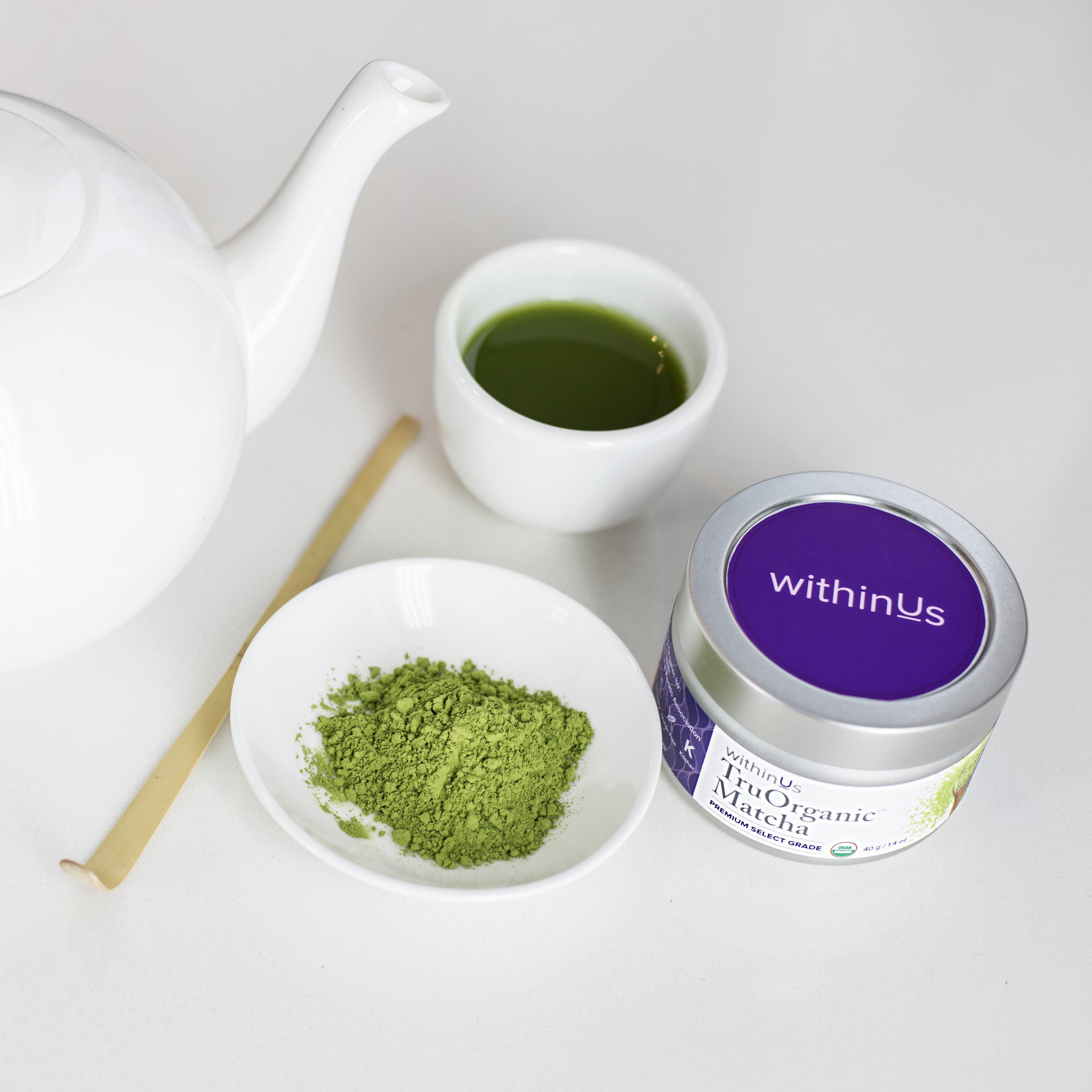 INTRODUCING WITHINUS TRUORGANIC™ MATCHA ~ withinUs Team
