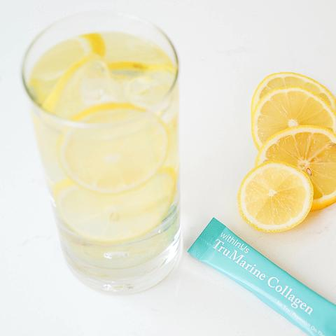 Lemon Water and Collagen