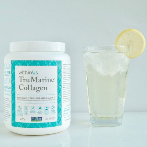 Iced Green Tea with Collagen